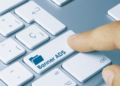 banner ads keyboard
